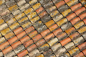 A shelter covered with tiles — Stock Photo