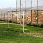 objetivo do futebol — Foto Stock