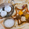 Indina cookery spices — Stockfoto