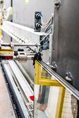 Machinery, Glass window factory — Stock Photo
