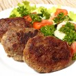 Stock Photo: Turkey cutlets