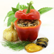 Stuffed peppers — Stock Photo #11608556