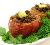 Stuffed Tomatoes — Foto de Stock