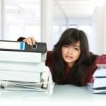 Stress business woman — Stock Photo #10956981