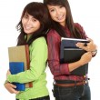 Two young student — Stock Photo #10957473