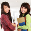 Two young student — Stock Photo #10958023