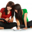 Stock Photo: Students reading