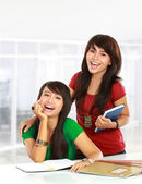 Young asian student — Stock Photo