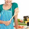 Stock Photo: Cooking time