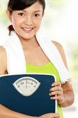 Healthy woman — Stock Photo