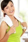 Giovane donna in buona salute — Foto Stock