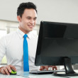 Young business man working — Stock Photo #11146320