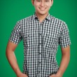 Happy asian male smiling — Stock Photo #11409471