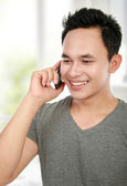 Man making a phone call — Stock Photo