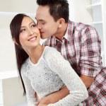 Romantic kiss — Stock Photo #11410340