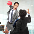 Stock Photo: Businessmen fighting
