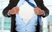 Super businessman — Stockfoto