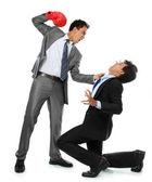 Businessmen fighting — Stock Photo