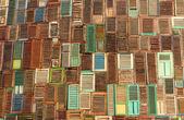 Abstrakte fenster holz textur — Stockfoto