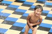 Boy having fun — Stock Photo