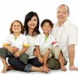 Family happy — Stock Photo