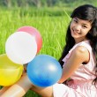 Stock Photo: Pretty young girl