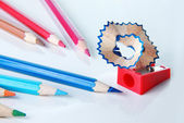 Coloring pencil — Stock Photo