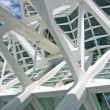 Structural details of a contemporary architecture - Stock Photo