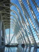 The sky inside a contemporary building — Stock Photo