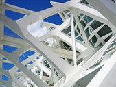 Structural details of a contemporary building — Stock Photo