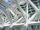Structural details of a contemporary architecture — Stock Photo