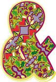 クリスマス手描き下ろし記号です。ベクトル イラスト — ストックベクタ