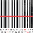 APRIL 2013 Calendar, Barcode Design. vector illustration - Stock Vector