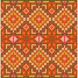 Ethnic cross stitch pattern. — Stock Vector