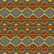 Ethnic background design. — Stock vektor