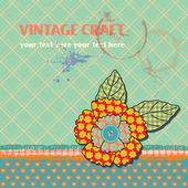 Vintage Template Background — Stock Vector