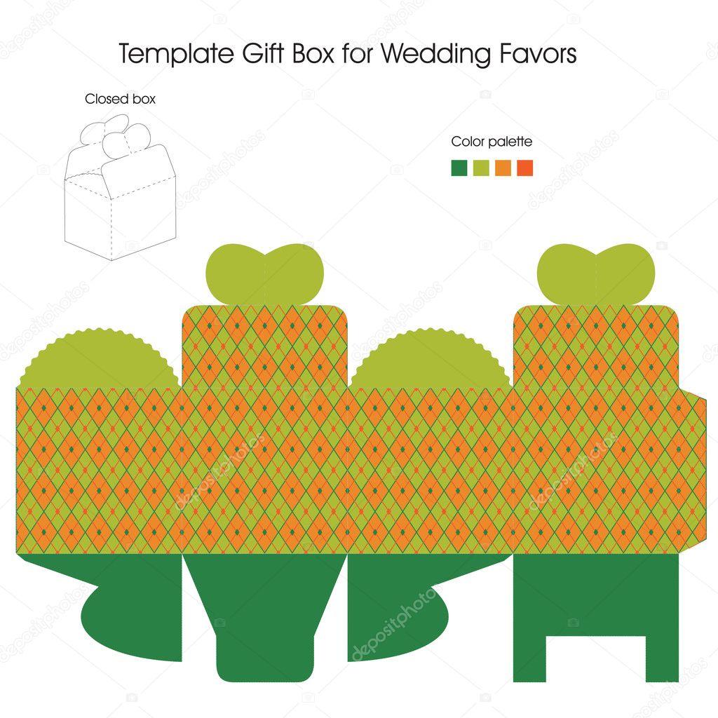 Wedding Gift Deposit Box : Gift box collectionStock Vector ? Elenasz #11330328