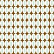Brown and blue dots background. — Vecteur