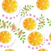 Orangefarbenen hintergrund — Stockvektor