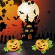 Halloween Background — Stock Vector #12319824