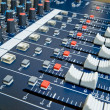 Professional audio mixer — Stock Photo