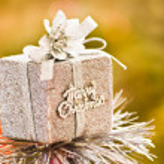 Little gift for Christmas — Stock Photo