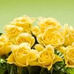 Постер, плакат: Bouquet of yellow roses