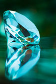 Turquoise diamant — Stockfoto