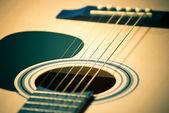 Closeup of guitar — Stock Photo