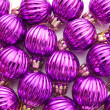 Stock Photo: Purple Christmas balls