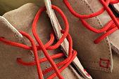 Winter shoes closeup — Stock Photo