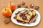 Cake slices — Stock Photo