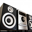 Stock Photo: Stereo system