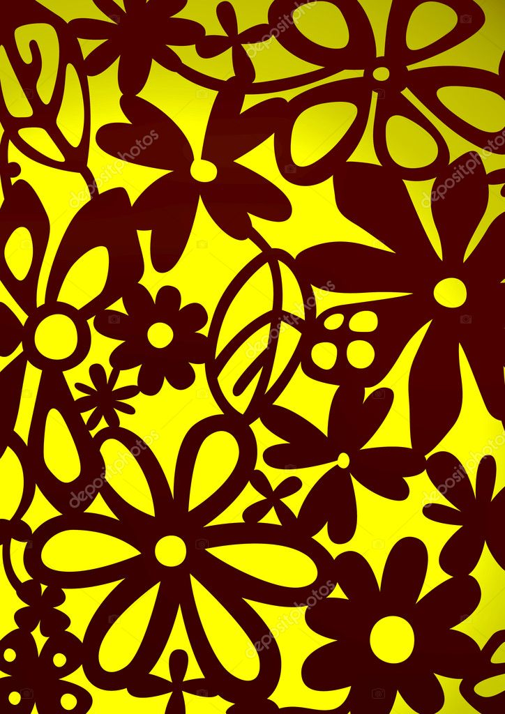 The pattern of a visionary flower — Stock Photo #10861971